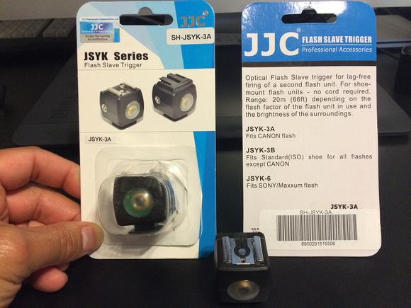 Slave Triggers for Canon 600 EX-RT Speedlites